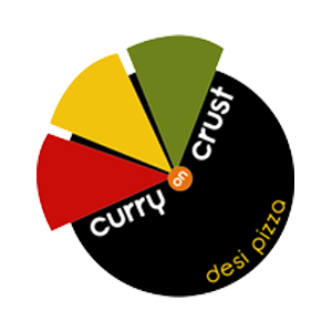 curry on crust